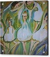 Lily Allegro Ballet Acrylic Print