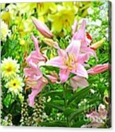 Lily And Friends Acrylic Print