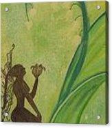 Lily Fairy Acrylic Print