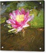 Lily Impression Acrylic Print