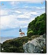 Lime Kiln Point Lighthouse Acrylic Print
