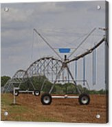 Limestone County Crop Irrigation Acrylic Print