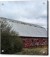 Limestone County Red Barn Acrylic Print