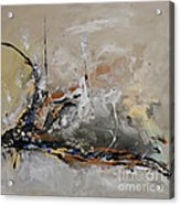 Limitless - Abstract Painting Acrylic Print by Ismeta Gruenwald