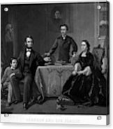 Lincoln And Family Acrylic Print