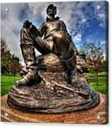 Lincoln At Delaware Park  Acrylic Print