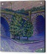 Lincoln Ave Bridge Pittsburgh Acrylic Print