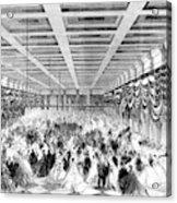 Lincoln Ball, 1865 Acrylic Print