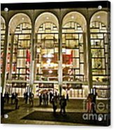 Lincoln Center At Night Acrylic Print
