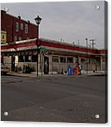 Lincoln Diner Acrylic Print
