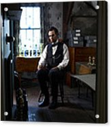 Lincoln In The Attic 2 Acrylic Print by Ray Downing