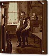 Lincoln In The Attic Acrylic Print