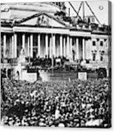 Lincoln Inauguration, 1861 Acrylic Print