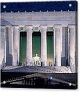 Lincoln Memorial At Dusk, Washington Acrylic Print