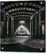 Lincoln Memorial Acrylic Print by Eduard Moldoveanu