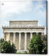 Lincoln Memorial Side View Acrylic Print