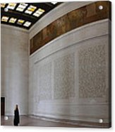Lincoln Memorial - Washington Dc - 01132 Acrylic Print