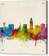 Lincoln Nebraska Skyline Acrylic Print