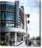 Lincoln Road Acrylic Print