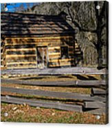 Lincoln's Boyhood Home Acrylic Print by Mark Bowmer