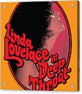 Linda Lovelace In Deep Throat Acrylic Print