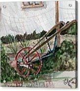 Lindas' Garden Acrylic Print