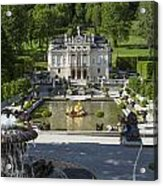 Linderhof And Royal Garden Acrylic Print