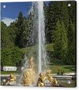 Linderhof Fountain Acrylic Print