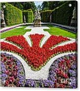Linderhof Palace Gardens - Bavaria - Germany Acrylic Print