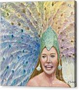 Lindsay  Carnival Queen Acrylic Print