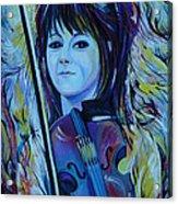 Lindsey Stirling Acrylic Print by Anna  Duyunova