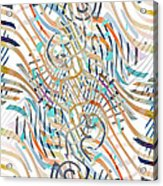 Line Movement Acrylic Print