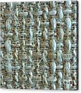 Linen Fabric Texture Acrylic Print