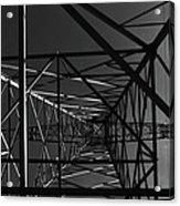 Lines And Angles Acrylic Print