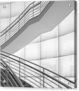 Lines And Shadows Acrylic Print