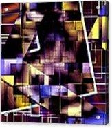 Lines Vs Diagonals Acrylic Print by Mario Perez