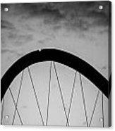 Lingotto Bridge Acrylic Print