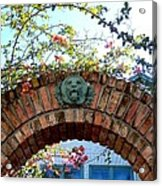 Lion Arch With Flowers Acrylic Print