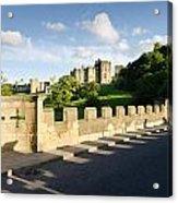 Lion Bridge At Alnwick Castle Acrylic Print