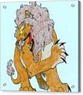 Lion Dragon Acrylic Print