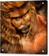 Lion Man Acrylic Print