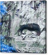 Lion Of Lucerne Acrylic Print by Dan Sproul
