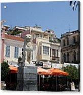 Lion Place Of Samos Acrylic Print