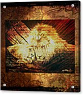 Lion Tapestry - Soulmates Acrylic Print