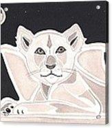 Lionheart Acrylic Print