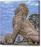 Lions Bridge East Lake Side Acrylic Print