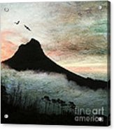 Lion's Head Cape Town Acrylic Print