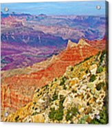 Lipan Point View On East Side Of South Rim Of Grand Canyon-arizona   Acrylic Print