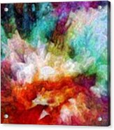 Liquid Colors - Enamel Edition Acrylic Print
