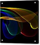 Liquid Colors Acrylic Print